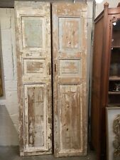 Antique Cypress 3-Panel Doors (pair) | Architectural Salvage | New Orleans