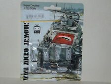 WWII Micro Armour GHQ War Games 1/285 Scale US-90 M4A1 75mm Sherman