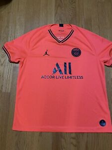 Air Jordan Paris Saint Germain Replica Infrared Soccer Jersey