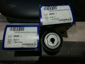 Set of 2 NEW Lemforder OEM Saab NG 900 9-3  Front Control Arm Bushings  4545711