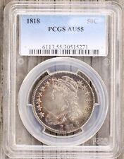 1818 Capped Bust Half Dollar Pcgs Au55 (30515271)