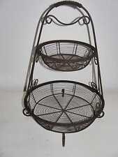 Fil de fer Schale etagere  bowl ca 1880 1900 Jugendstil Eisen