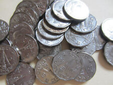 Roll of 1945 VICTORY NICKEL Canada Five Cents Coins. (40 Coins)