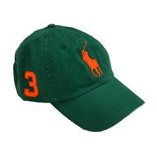 Polo Ralph Lauren Big Pony Hat Ball Cap Baseball Mens One Size Classic Prl New
