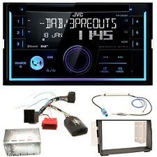 JVC KW-DB93BT USB MP3 DAB+ Bluetooth CD Einbauset für Kia Venga