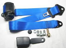 Blauer Automatik 3 - Punkt Sicherheitsgurt Mercedes R 107 SL / SLC, New Seatbelt