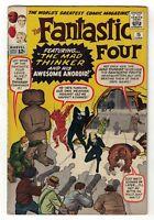 Marvel comics Fantastic Four  5.5 FN- Human torch Mad Thinker