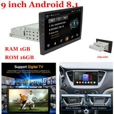 9inch 1Din Car Bluetooth Stereo Radio Wifi GPS Touch Screen ROM 16G Android 8.1