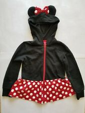 Disney Minnie Mouse Ears Hooded Jacket Girls size xs