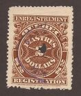 CANADA REVENUE QR23 USED F/VF PINPERF UNLISTED