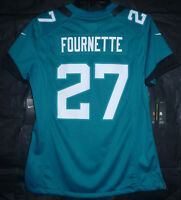 Jacksonville Jaguars Leonard Fournette #27 Nike NFL Jersey Teal Women's Size M