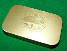 SCARCE LIMITED EDITION RICHARD WHEATLEY 2000AD GOLD ANODIZED POCKET FLY BOX