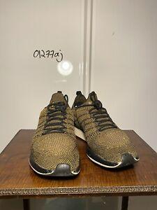 Nike Air flyknit Yellow Black Men's Size 9 UK TN Vapor Trainers Sneakers