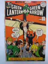 Green Lantern #89 (Apr-May 1972, DC) co-starring Green Arrow [FN/VF 7.0]