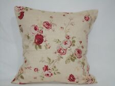 "4 X EDINBURGH WEAVER,FLORAL CUSHION COVER'S , 100% COTTON. 16""x16"""