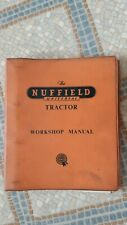 NUFFIELD UNIVERSAL  TRACTOR WORKSHOP MANUAL