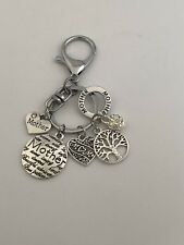 Mom Mother Keychain Purse Charm.  Mother's Day Keychain