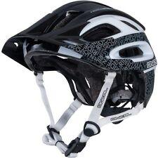 O'Neal Orbiter II Cone-Head TM Technology Bicycle Helmet Black White Size M-L