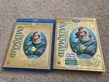 Disney The Little Mermaid (Blu-ray/DVD) - Slip cover - Diamond Edition -Rare