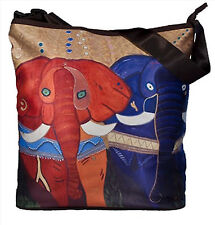 Elephant Large Cross Body Bag  by Salvador Kitti - Support Wildlife Conservation