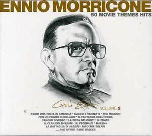 ENNIO MORRICONE - GOLD EDITION VOL.2 - 3CD NUOVO SIGILLATO 50 MOVIE THEME HITS
