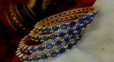 New Indian Bollywood Bangles American Diamond Zircons Made Bracelet Jewelry Set