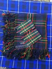 "Kilt Fly Plaid McLaren Tartan 48""X48""/Fly Plaid McLaren Tartan + Kilt Flashes"