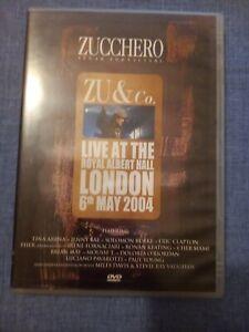 ZUCCHERO SUGAR FORNACIARI - ZU & CO LIVE IN LONDON 2004.  DVD