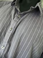 Marc Anthony Lavendar Mens Size XXL Button Down Slim Fit Shirt