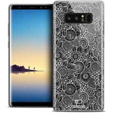 """Coque Crystal Gel Pour Samsung Galaxy Note 8 (6.3"""") Extra Fine Souple Dentelle F"""