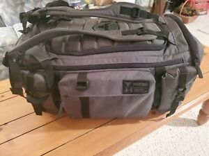 UA x Project Rock USDNA Cordura Range Duffle Bag olive green