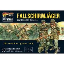 28mm Warlord Games German Falschirmjager (paratroopers) for Bolt Action WW2 BNIB