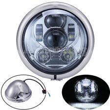 5.75'' 5 3/4 Daymaker LED Headlight Housing For Harley Davidson Softail Springer