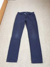 Top Man Skinny Chino W28 L32 Navy Trousers