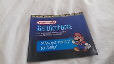 nintendo NES service force manual booklet