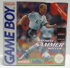 MATTHIAS SAMMER SOCCER - NINTENDO GAMEBOY GAME BOY GB REGION FREE