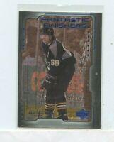 JAROMIR JAGR 1999-00 Upper Deck Fantastic Finishers Insert Card #FF4 Pittsburgh