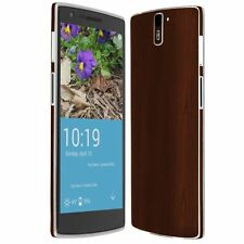 Skinomi Dark Wood Skin+Ultra Clear HD Screen Protector for OnePlus One