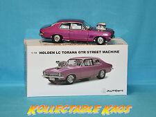 Holden LC Blown TORANA GTR Street Machine 1.18 Autoart 72575 Post