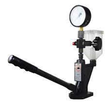 Automotive Fuel Injection Nozzle Pressure Tester Diesel 0-8000 PSI Gauge Filter