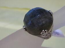 925er Silberring mit Mondstein Ringgroße 59 RK durchmesser 2,48 cm Ge 17,60 gr