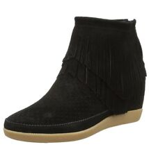 SHOE THE BEAR Emmy Fringes Women's Boots Black 6.5 UK 40 EU 8.5 US 25.5 CM