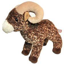 "Douglas Climber Bighorn Sheep Plush Brown Bean Bag Stuffed Animal Toy 8"""