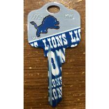 Great Gift Idea NFL Detroit Lions KWIKSET KW1, KW10, KW11 UNCUT KEY BLANK