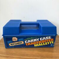 Matchbox Carry Case Made In England With Car Slots Vintage Car Holder Good Con