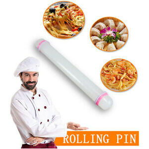 Non Stick Fondant Roller Silicone Rolling Pin Cake Pastry Cooking Baking Pin ab