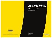 NEW HOLLAND E215C EXCAVATOR OPERATORS MANUAL