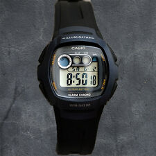 Casio W-210-1B Mens Digital Watch 10 Year Battery LED Light with Afterglow New