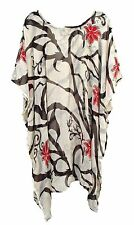 Sheer Kaftan Beach Wear Dress Party Boho Festival Size 14 16 18 20 22 24 26 28