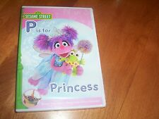 SESAME STREET P IS FOR PRINCESS Muppets PBS Elmo Muppet SEALED NEW DVD